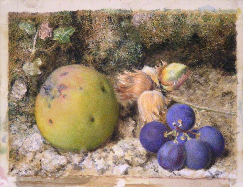 Still Life with Fruit and Nuts