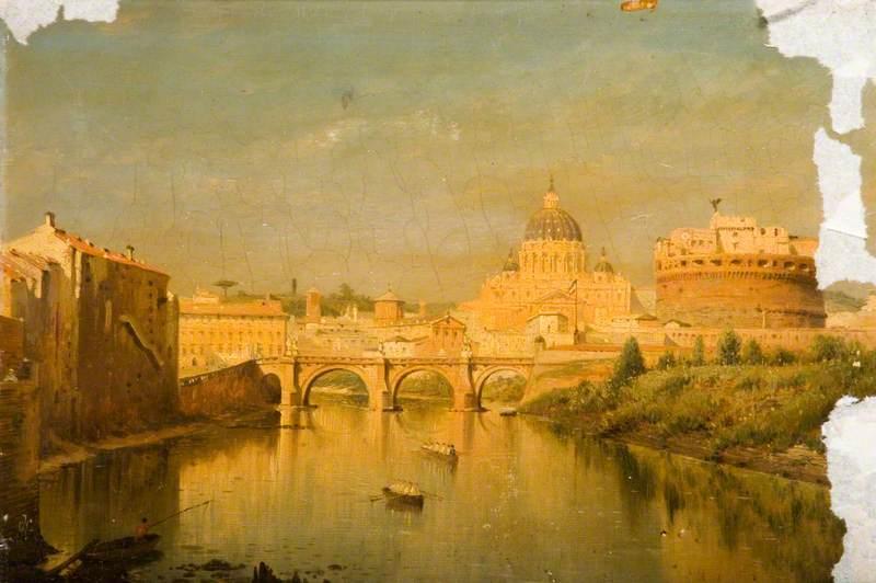 Rome, the Bridge of Sant'Angelo