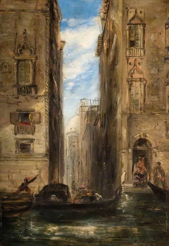 Venice, Narrow Canal