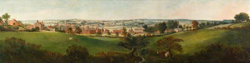 View of Stoke from Penkhull