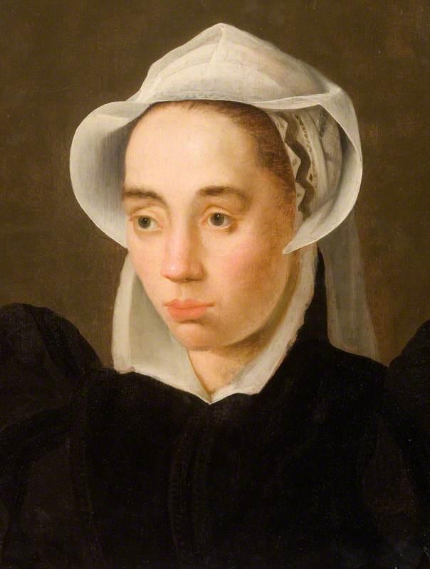 Woman in a White Cap