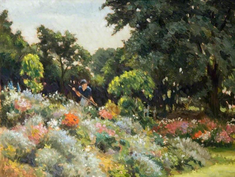 Mabel Gardening