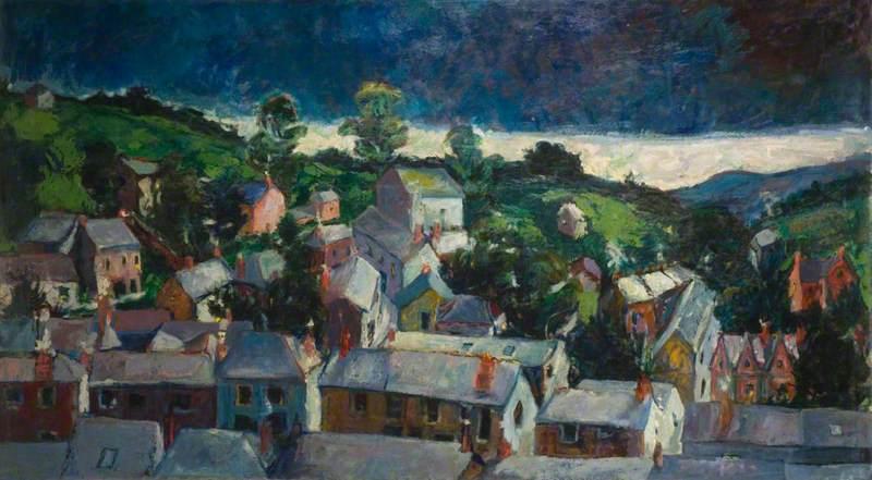 Dawn, Newlyn, Cornwall