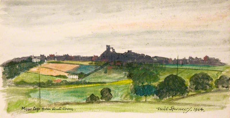 Mow Cop from Kent Green