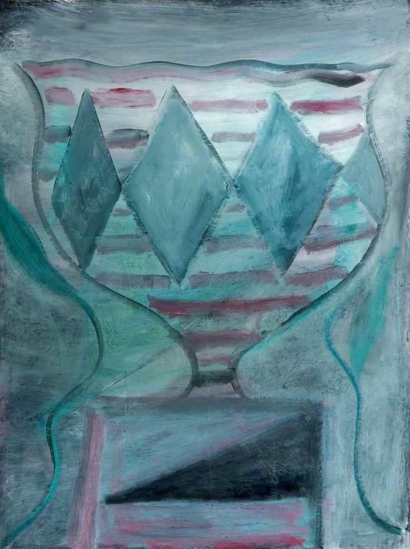 Vase with Diamond Shape