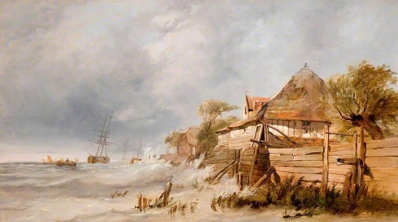 Off the Dutch Coast