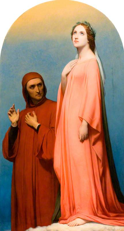 The Vision, Dante and Beatrice