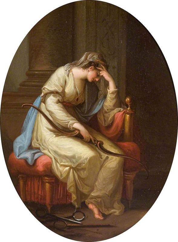 Penelope Weeping over the Bow of Ulysses