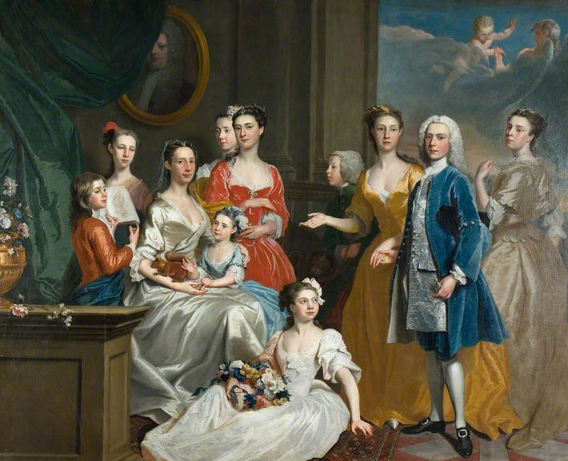 The Family of E. Lancelot Lee