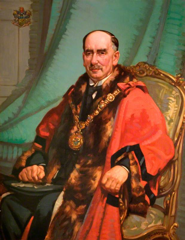 Alderman Arthur Thomas Morris, JP, Mayor of Smethwick (1927–1929)