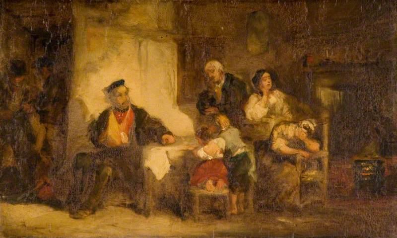 Interior, A Sad Scene