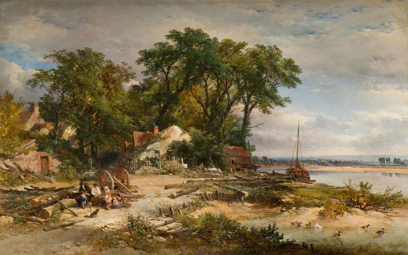 Scene on the River Avon