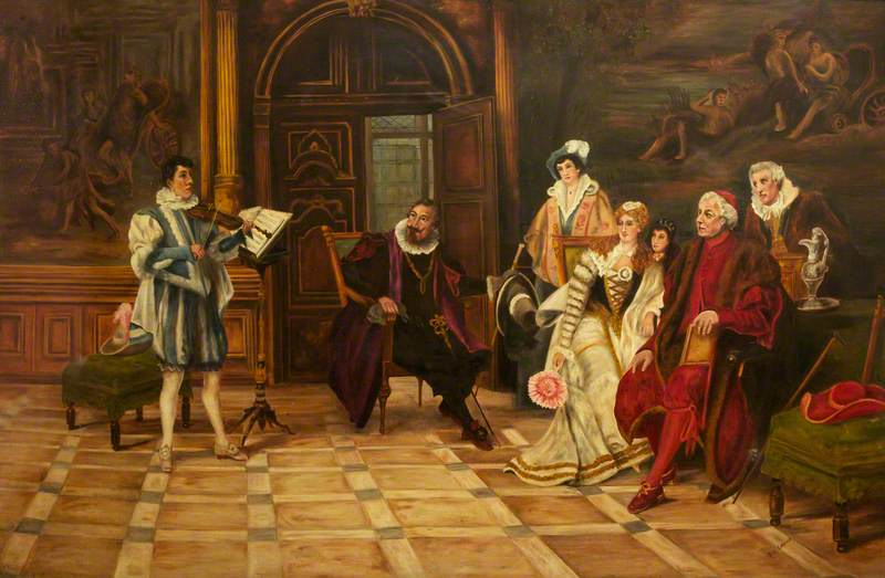 At the Court of Mary, Queen of Scots