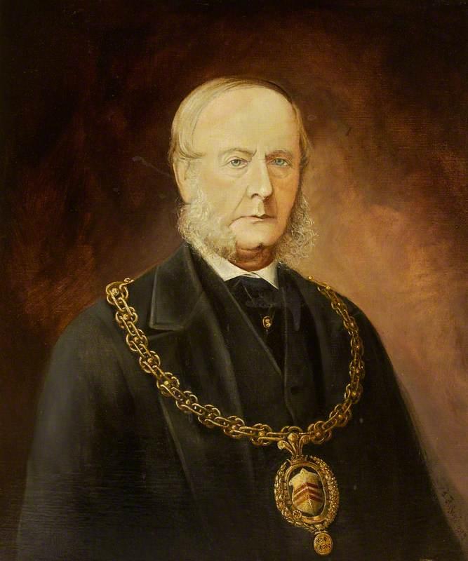Alderman Thomas Evans (c.1814–1883), JP, Surgeon, Mayor of Cardiff (1868–1869)