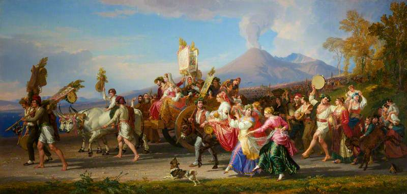 The Festa of the Madonna dell'Arco at Naples