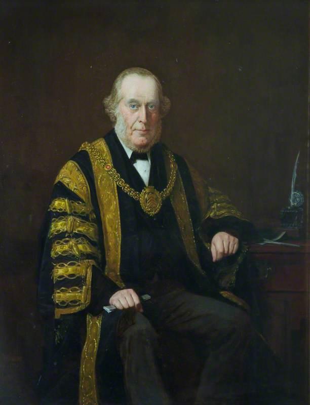 Alderman Andrew Fulton, Mayor of Cardiff (1884–1885)