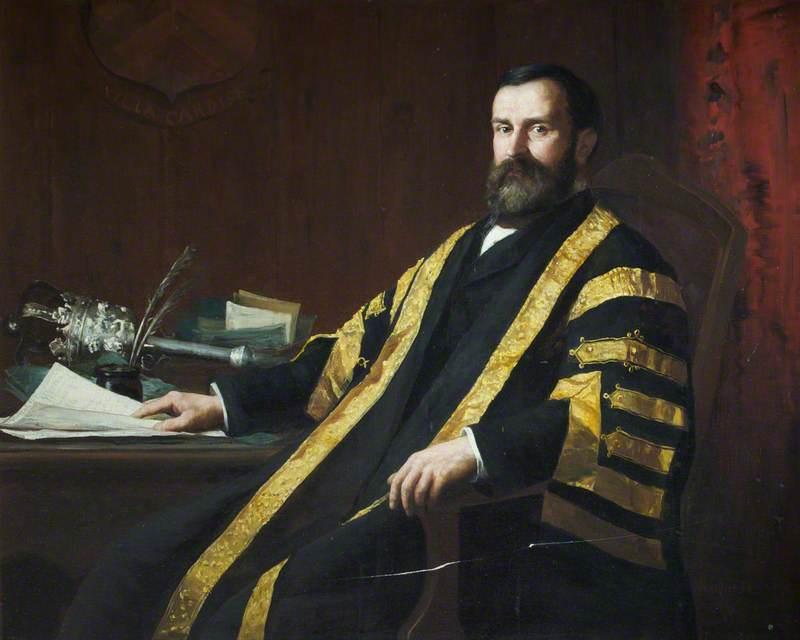 Robert Bird, JP, Mayor of Cardiff (1883–1884)