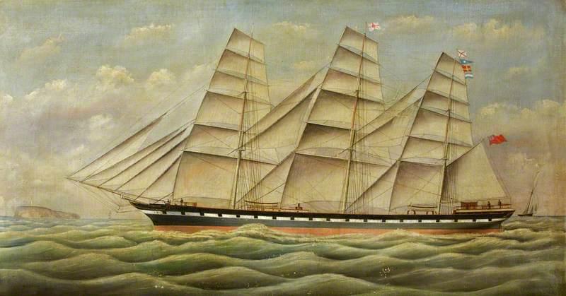 Sailing Ship 'The Buckhurst'