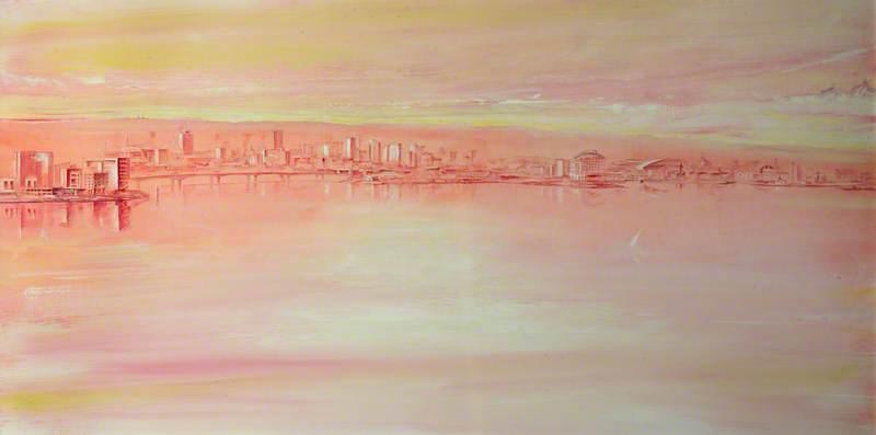 Sunrise, Cardiff Bay