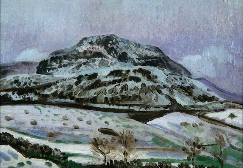 Welsh Landscape in Winter