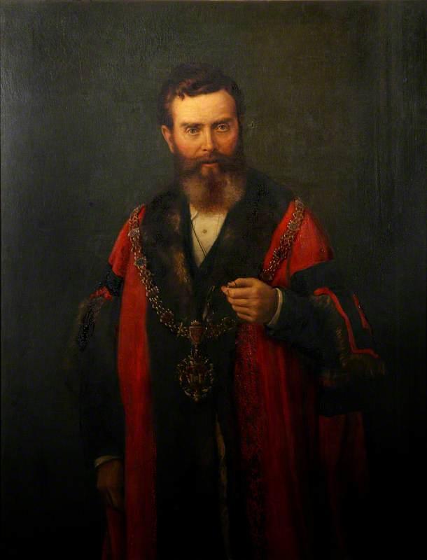 James Rodgers, JP, Mayor of Swansea (1878)