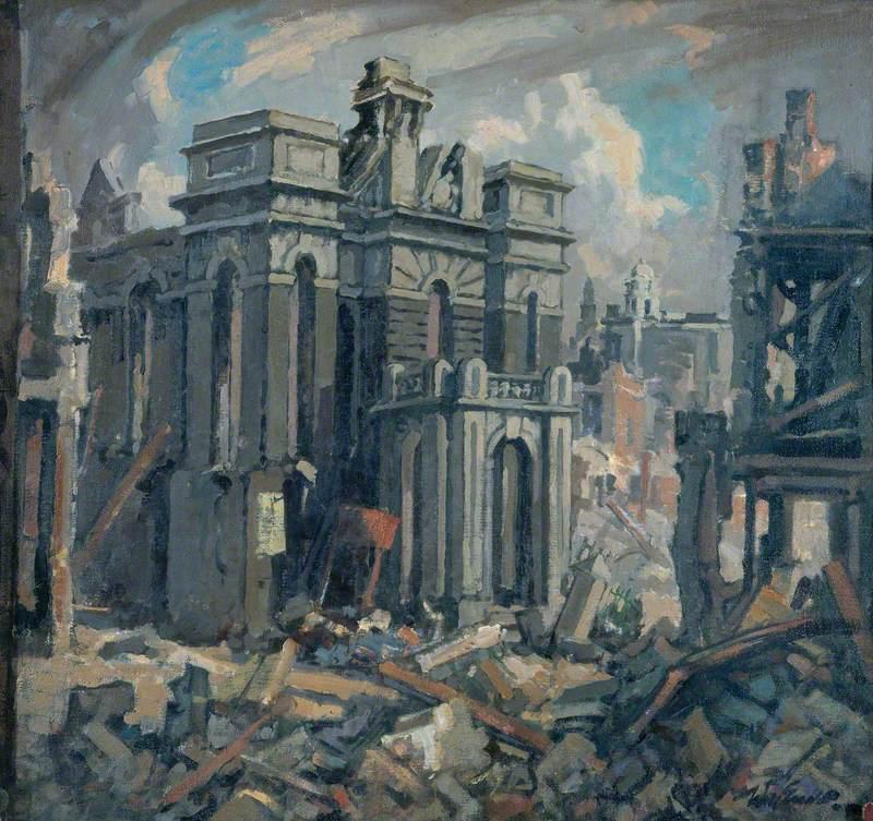 Wesley Chapel, Swansea, 1941