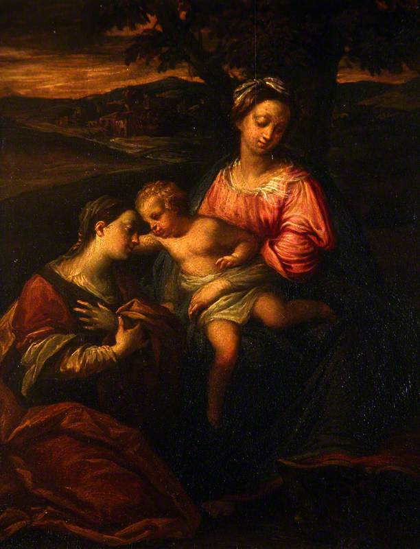 Virgin and Infant Saviour