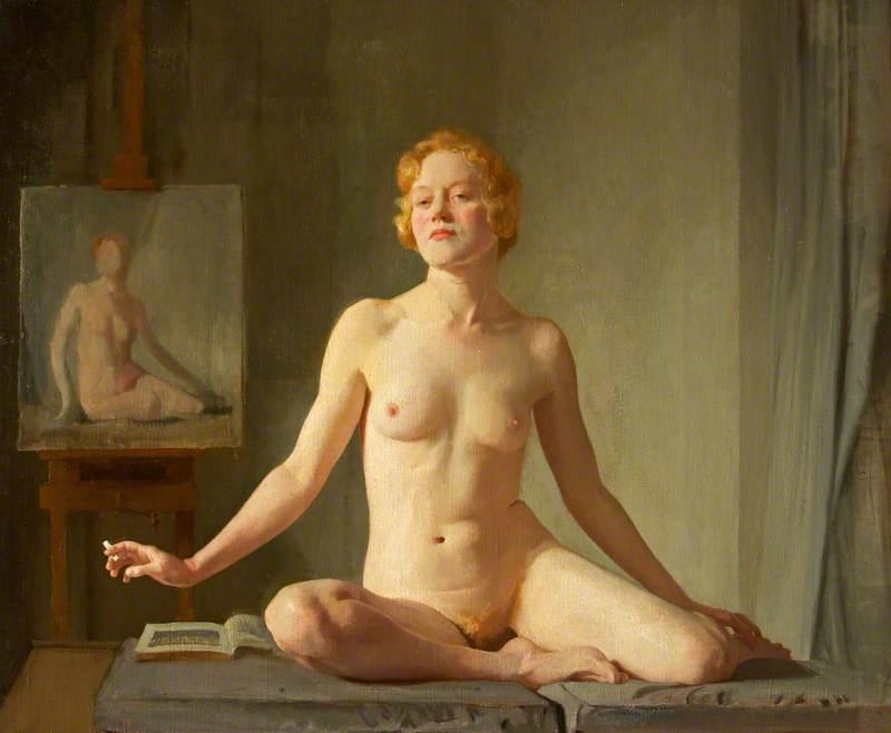 D. D. V (a); Nude Study; The Little Model; Petite modèle Anglaise