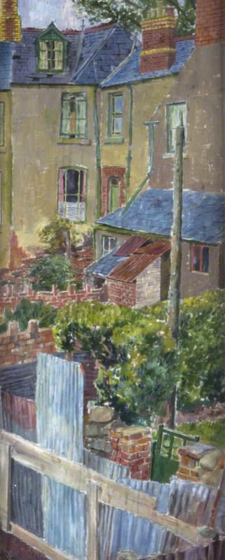 Backs of Houses, Llandaff