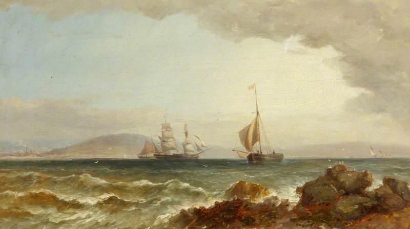 Ships in Swansea Bay