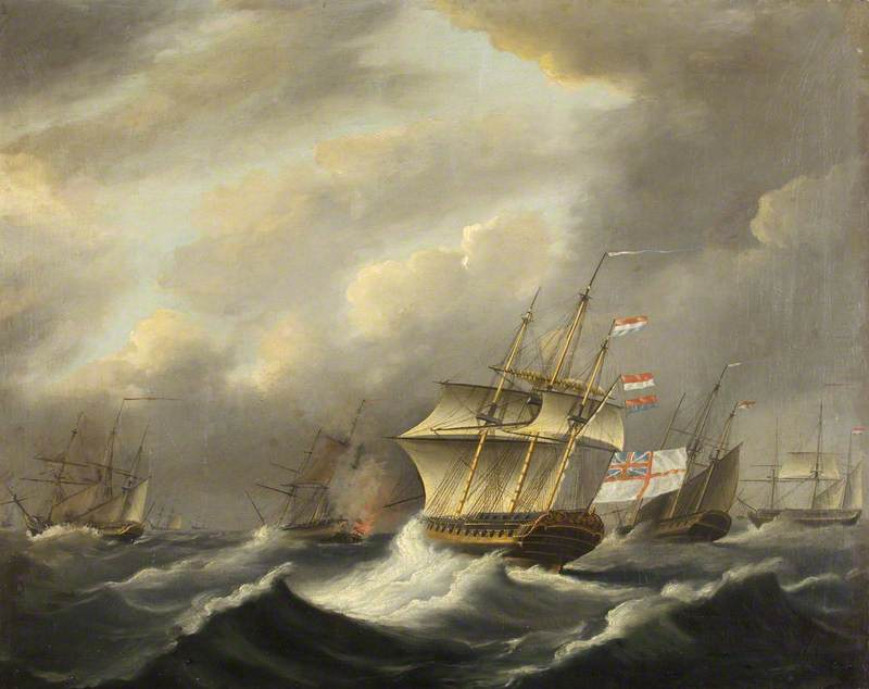 HMS 'Daedalus'