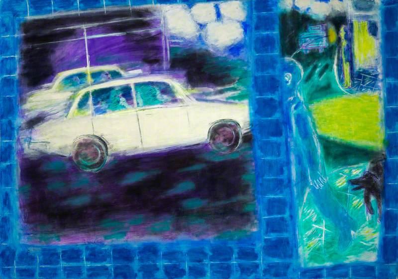 Street with Car