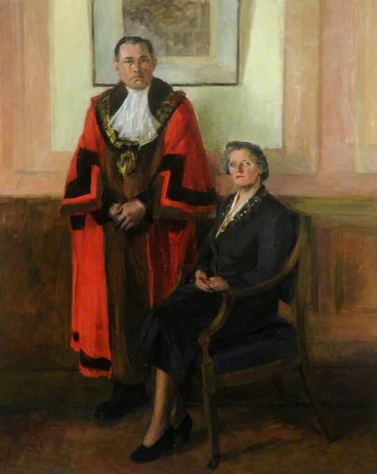 Alderman A. E. McVie, JP and Mrs McVie