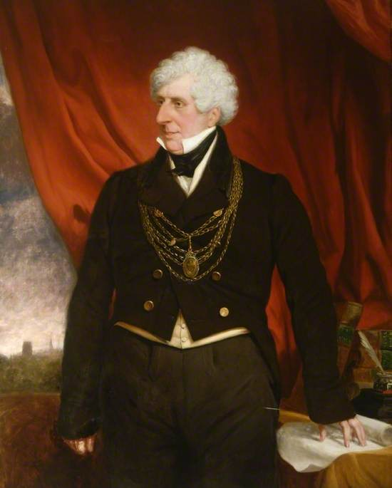 Sir William Bryan Cooke (1782–1851), Mayor of Doncaster (1835–1836)