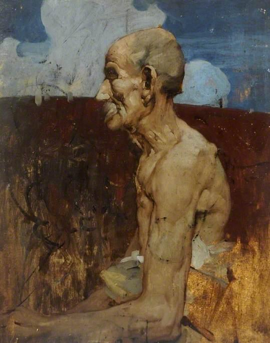 Old Man at Assisi