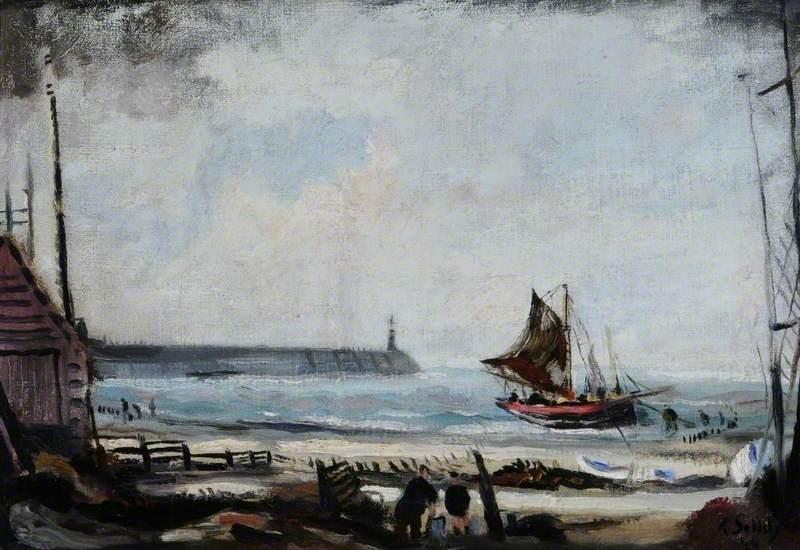 Coast Scene near the Stour Estuary, Suffolk