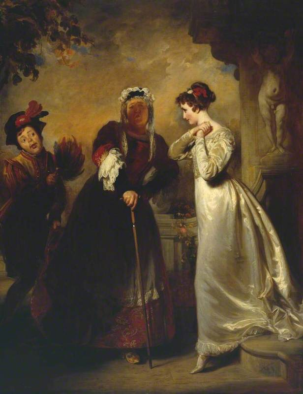 Romeo and Juliet - Act II Scene 5 ('Juliet and her Nurse')