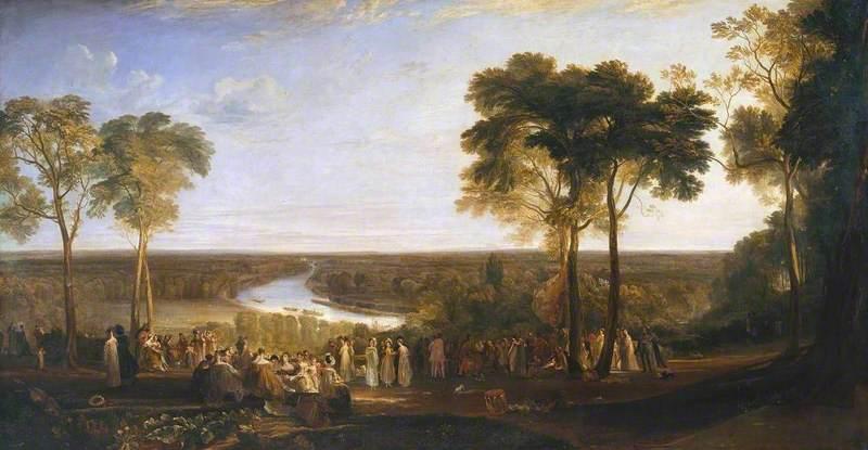 England: Richmond Hill, on the Prince Regent's Birthday