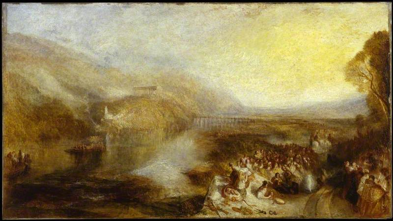 The Opening of the Wallhalla, 1842