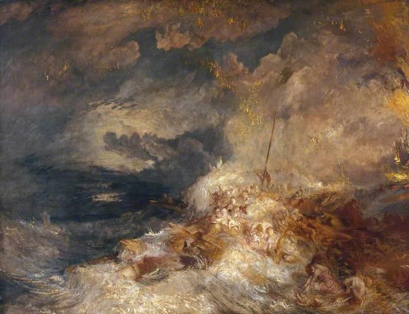 A Disaster at Sea