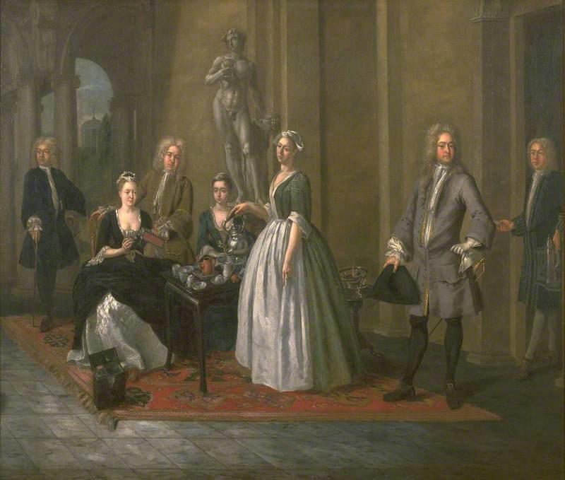 An English Family at Tea