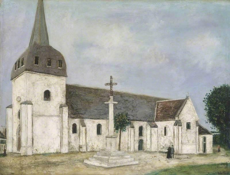 Church at St Hilaire (Eglise de St Hilaire)