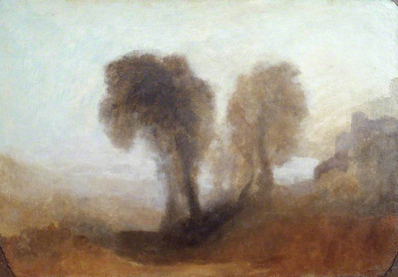 Landscape with Trees and a Castle