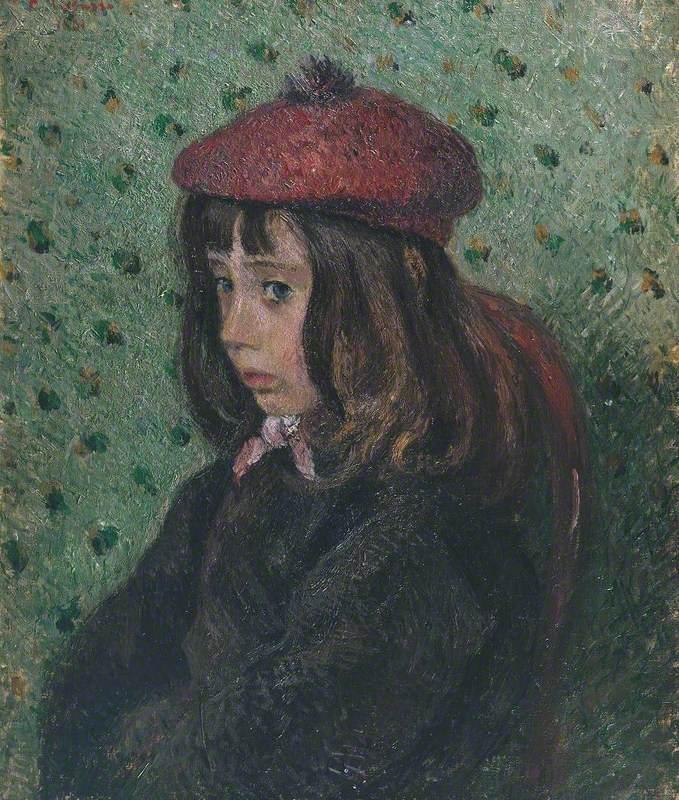 Portrait of Felix Pissarro (Portrait de Félix Pissarro)