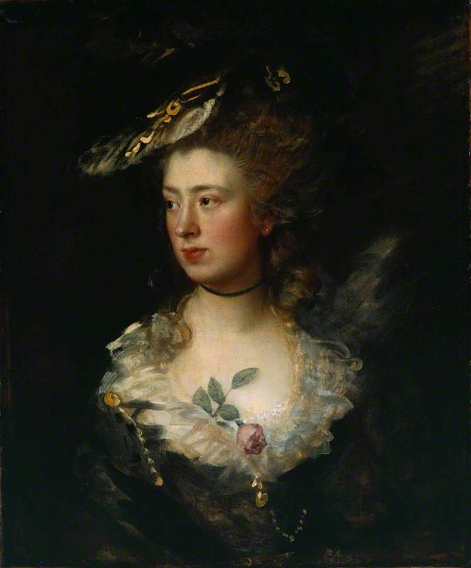 The Artist's Daughter Mary
