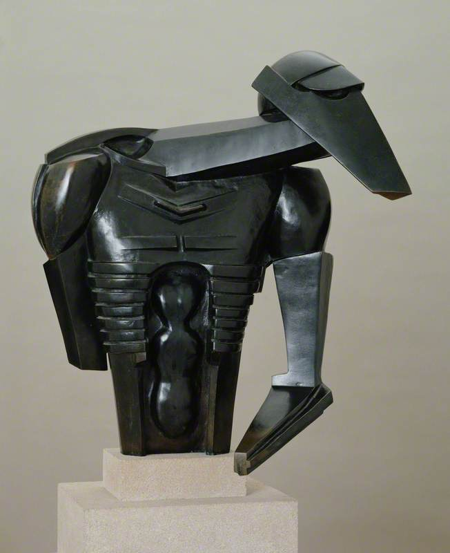 Torso in Metal from 'The Rock Drill'