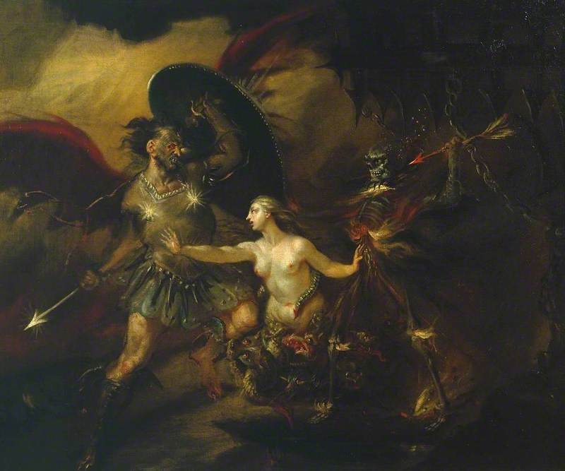 Satan, Sin and Death (A Scene from Milton's 'Paradise Lost')