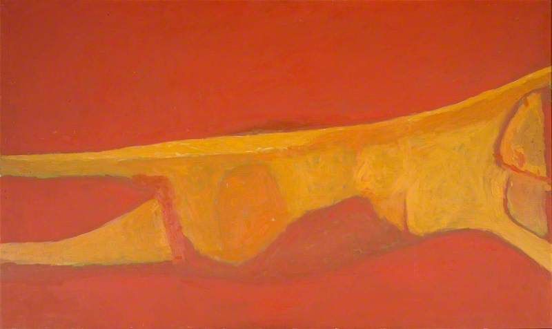 Reclining Nude (Red Nude)