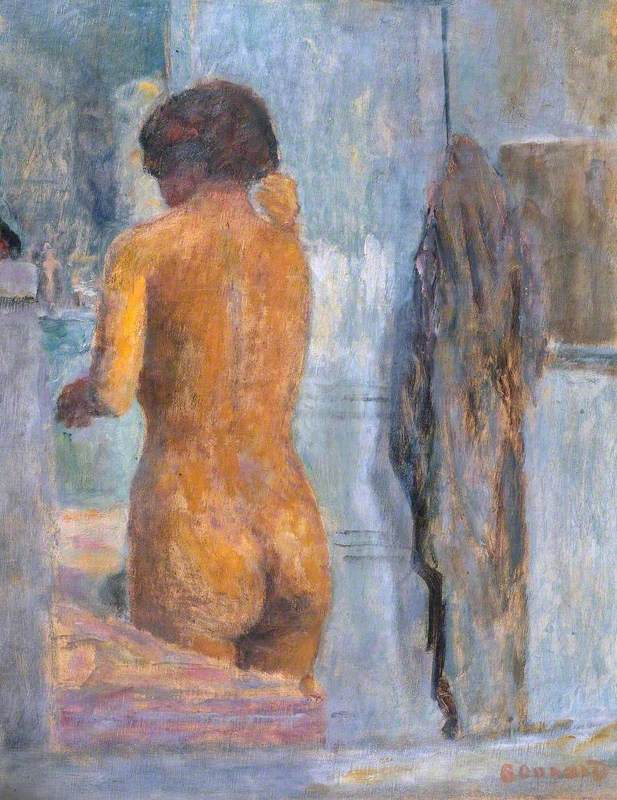 Bathing Woman, Seen from the Back (Baigneuse, de dos)