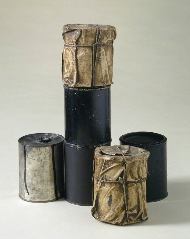 Wrapped Cans. Part of Inventory
